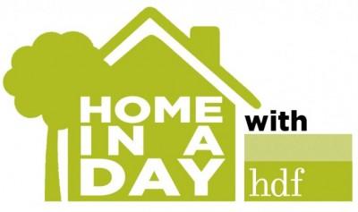 home in a day with HDF for first time home buyers